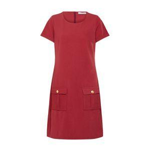 Freebird Letní šaty  zlatá / rezavě červená