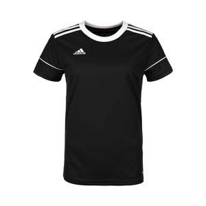 ADIDAS PERFORMANCE Funkční tričko 'Squadra 17'  černá / bílá