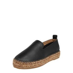 ROYAL REPUBLIQ Páskové sandály 'Wayfarer Suede High Wedge'  černá