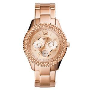 FOSSIL Analogové hodinky 'STELLA'  růžově zlatá