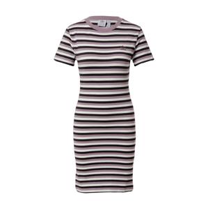 ADIDAS ORIGINALS Šaty  černá / offwhite / fialová