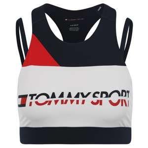 Tommy Sport Sportovní podprsenka '1 17'  modrá / červená / bílá