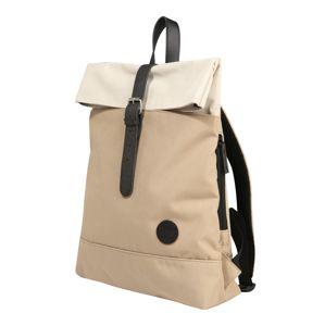 ENTER Batoh 'Fold Top Backpack '  béžová