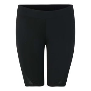 Urban Classics Curvy Kalhoty 'Ladies Tech Mesh Cycle Shorts'  černá
