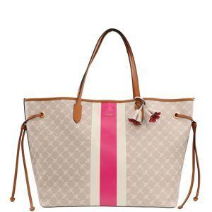 JOOP! Nákupní taška 'xlho | cortina due | lara'  béžová / pink