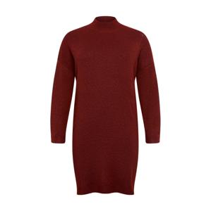 ONLY Carmakoma Úpletové šaty 'Primeus'  červená