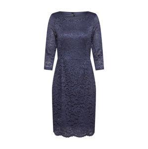 VERO MODA Pouzdrové šaty  modrá