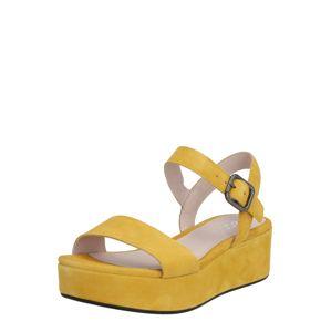 ECCO Sandály  žlutá