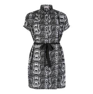 ONLY Carmakoma Košilové šaty  mix barev / černá