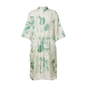 Tiger of Sweden Košilové šaty  bílá / zelená