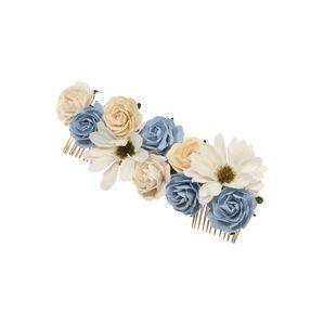 LILY AND ROSE Šperky do vlasů 'Rosie'  modrá / krémová
