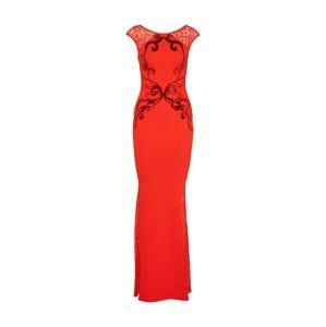 Lipsy Společenské šaty  červená