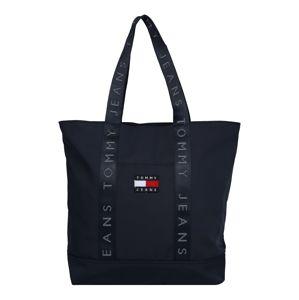 Tommy Jeans Nákupní taška 'HERITAGE'  marine modrá / bílá / světle červená