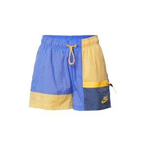 Nike Sportswear Kalhoty  žlutá / fialová