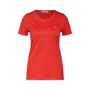 LACOSTE Tričko  oranžově červená
