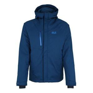 JACK WOLFSKIN Outdoorová bunda 'Troposhere'  modrá