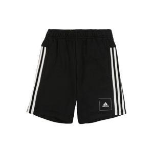 ADIDAS PERFORMANCE Sportovní kalhoty 'JB A AAC SHORT'  bílá / černá