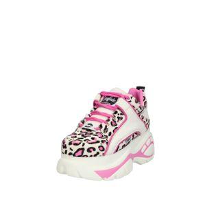 Buffalo London Tenisky  krémová / pink / černá