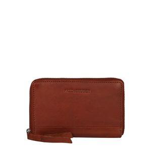 FREDsBRUDER Peněženka 'Pure Wallet Midi'  hnědá