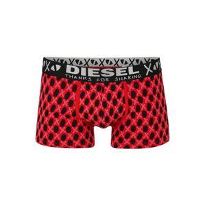 DIESEL Boxerky 'UMBX-DAMIEN BOXER-SHORTS'  černá / červená / pink