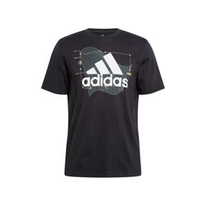 ADIDAS PERFORMANCE Funkční tričko 'Universal BoS'  černá