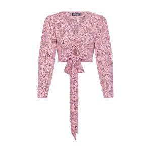 Fashion Union Halenka 'LAMB'  růžová / burgundská červeň