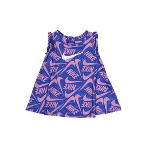 Nike Sportswear Šaty 'Marker Mash'  růžová / modrá
