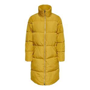 JACQUELINE De YONG Zimní kabát  hořčicová