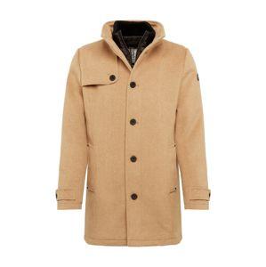 TOM TAILOR Zimní kabát  světle hnědá