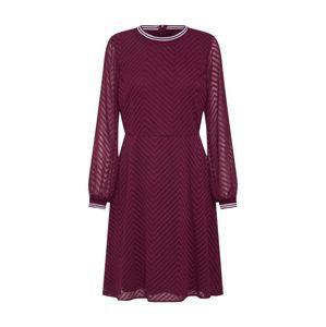ONLY Šaty 'LINA'  vínově červená