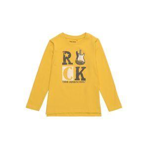 BLUE SEVEN Tričko  tmavě žlutá