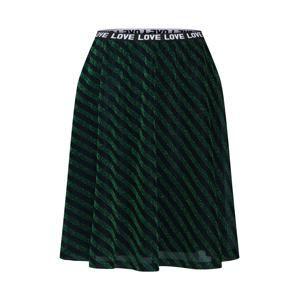 Desires Sukně 'Beret'  tmavě zelená / černá