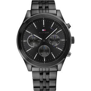 TOMMY HILFIGER Analogové hodinky 'ASHTON'  černá