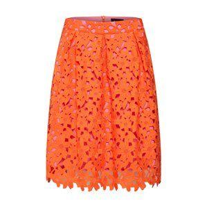 SAND COPENHAGEN Sukně 'Norma'  růžová / oranžově červená