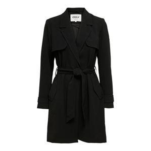 ONLY Přechodný kabát 'FANNY-RUNA'  černá