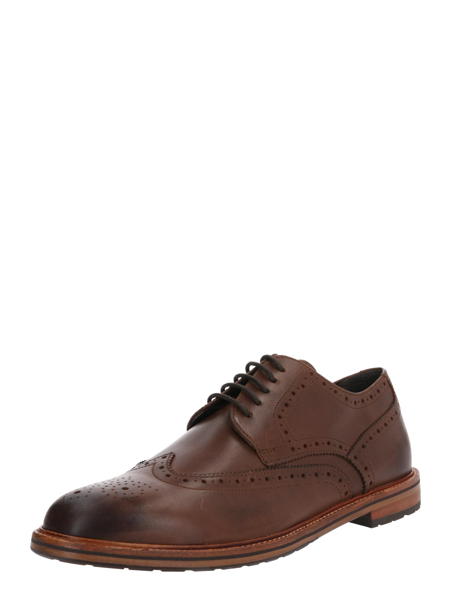 Gordon & Bros Šněrovací boty 'Cockett'  koňaková