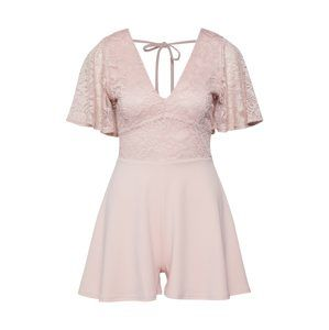 NEW LOOK Overal '2 IN 1 LACE PLAYSUIT'  růžová