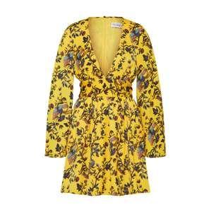 IVYREVEL Letní šaty 'ALANI'  hořčicová