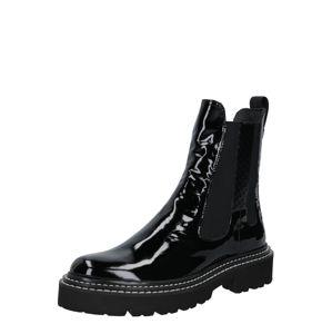 Donna Carolina Chelsea boty  černá