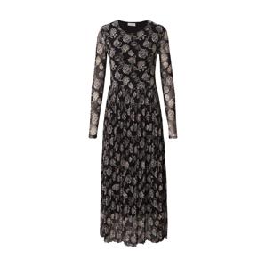 Freequent Šaty 'ANNA'  černá / béžová