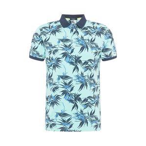 Hailys Men Tričko 'Mitch'  nebeská modř / mátová / námořnická modř