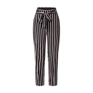 VERO MODA Kalhoty se sklady v pase 'SIMPLY EASY'  noční modrá