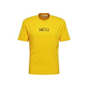 McQ Alexander McQueen Tričko  žlutá
