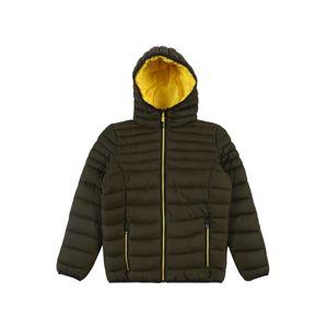 CMP Funkční bunda  khaki / žlutá