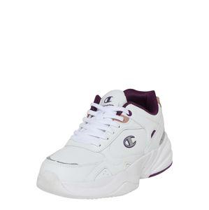 Champion Authentic Athletic Apparel Tenisky 'Philly'  šedá / bílá / tmavě fialová / růžová