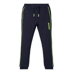 NAME IT Kalhoty  kobaltová modř / svítivě zelená